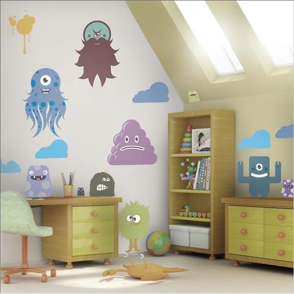 Kinderzimmer wand ideen jungen  Dekoration für zu Hause